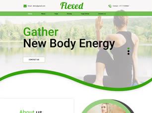flexed